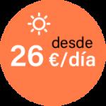 Desde 26 euros