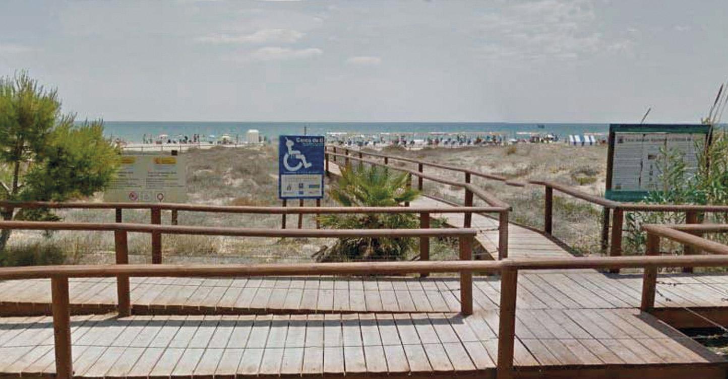 Anamar. Playa del Cargador. Movilidad. Alcossebre